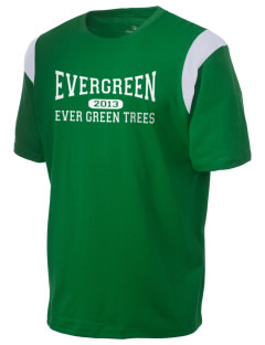 Evergreen Elementary School Ever Green Trees Holloway Men's Rush T-Shirt