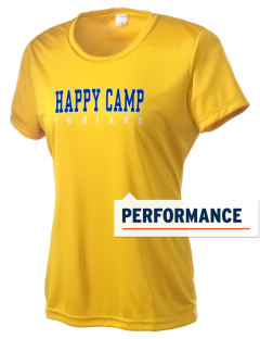 Happy Camp High School Indians Women's Competitor Performance T-Shirt