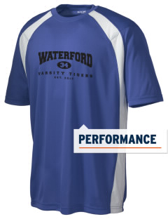 Waterford Elementary School Tigers Men's Dry Zone Colorblock T-Shirt