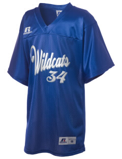 April Lane Elementary School Wildcats Russell Kid's Replica Football Jersey