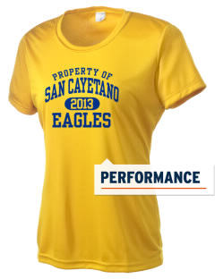 San Cayetano School Eagles Women's Competitor Performance T-Shirt