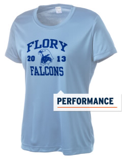 Flory Elementary School Falcons Women's Competitor Performance T-Shirt
