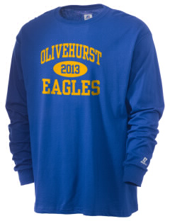 Olivehurst Elementary School Eagles  Russell Men's Long Sleeve T-Shirt