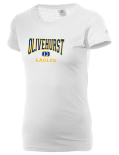 Olivehurst Elementary School Eagles  Russell Women's Campus T-Shirt