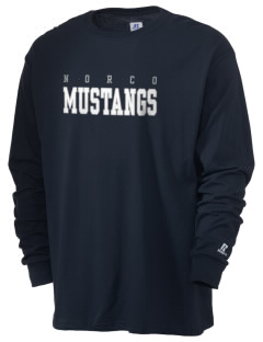 Norco Elementary School Mustangs  Russell Men's Long Sleeve T-Shirt