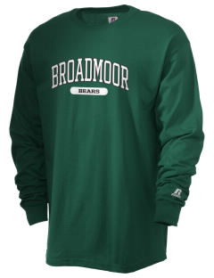 Broadmoor Elementary School Bears  Russell Men's Long Sleeve T-Shirt