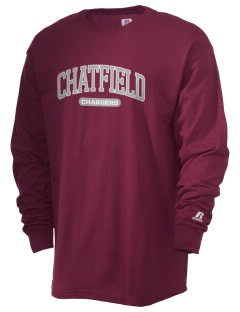Chatfield Senior High School Chargers  Russell Men's Long Sleeve T-Shirt