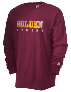 Golden High School Demons  Russell Men's Long Sleeve T-Shirt