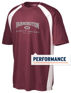Farmington High School Indians Men's Dry Zone Colorblock T-Shirt