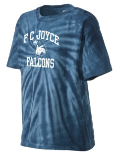 F C Joyce School Falcons Kid's Tie-Dye T-Shirt