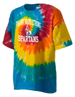 Frank Ward Strong Middle School Spartans Kid's Tie-Dye T-Shirt