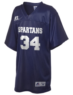 Frank Ward Strong Middle School Spartans Russell Kid's Replica Football Jersey