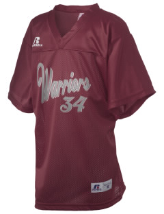 Living Water Christian School Warriors Russell Kid's Replica Football Jersey