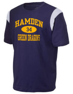 Hamden High School Dragons Holloway Men's Rush T-Shirt