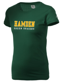 Hamden High School Dragons  Russell Women's Campus T-Shirt