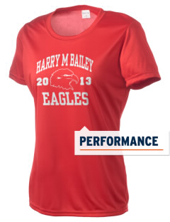 Harry M Bailey Middle School Eagles Women's Competitor Performance T-Shirt