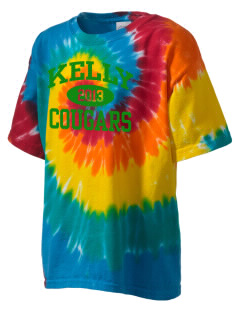 Kelly Middle School Cougars Kid's Tie-Dye T-Shirt