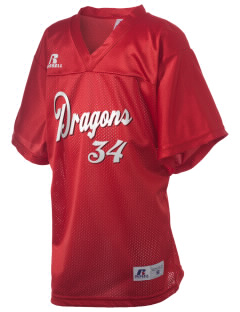 William Seely Elementary School Dragons Russell Kid's Replica Football Jersey