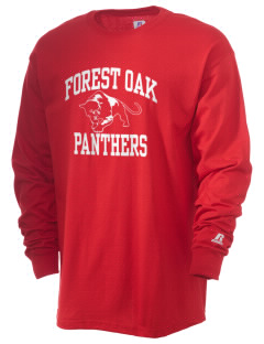 Forest Oak Elementary School Panthers  Russell Men's Long Sleeve T-Shirt