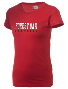 Forest Oak Elementary School Panthers  Russell Women's Campus T-Shirt
