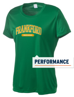 Frankford Elementary School Indians Women's Competitor Performance T-Shirt