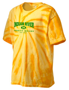 Indian River High School Indians Kid's Tie-Dye T-Shirt