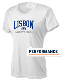 Lisbon Elementary School Mustangs Women's Competitor Performance T-Shirt
