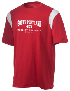 South Portland High School Red Riots Holloway Men's Rush T-Shirt