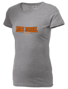 Morse Memorial Elementary School Tigers  Russell Women's Campus T-Shirt