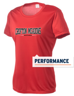 Crofton Meadows Elementary School Mustangs Women's Competitor Performance T-Shirt
