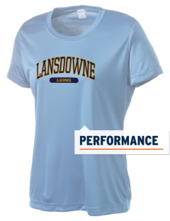 Lansdowne Middle School Lions Women's Competitor Performance T-Shirt