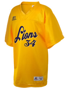 Lansdowne Middle School Lions Russell Kid's Replica Football Jersey
