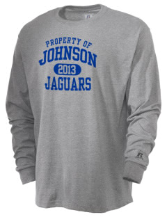 Johnson Elementary School Jaguars  Russell Men's Long Sleeve T-Shirt
