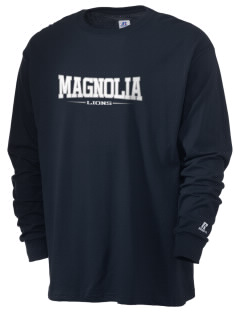 Magnolia Elementary School Lions  Russell Men's Long Sleeve T-Shirt