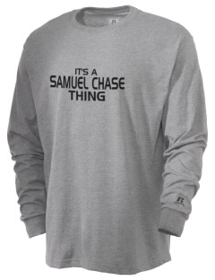 Samuel Chase Elementary School Bulldogs  Russell Men's Long Sleeve T-Shirt