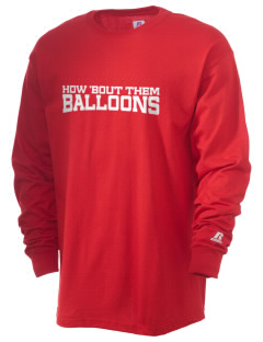 Patrick J Kennedy Elementary School Balloons  Russell Men's Long Sleeve T-Shirt