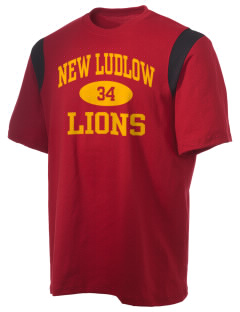 New Ludlow Elementary School Lions Holloway Men's Rush T-Shirt