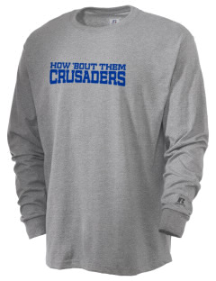 Peridot-Our Savior's Lutheran School Crusaders  Russell Men's Long Sleeve T-Shirt