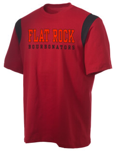 Flat Rock Technical School Bourbonators Holloway Men's Rush T-Shirt