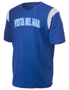 Vista del Mar School Makos Holloway Men's Rush T-Shirt