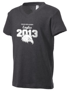 Chicago Hope Academy Eagles Kid's V-Neck Jersey T-Shirt