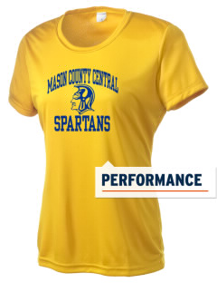 Mason County Central High School Spartans Women's Competitor Performance T-Shirt