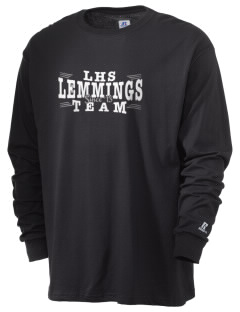 Leiphart Alternative High School Lemmings  Russell Men's Long Sleeve T-Shirt