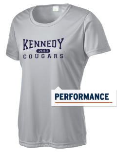 Kennedy Elementary School Cougars Women's Competitor Performance T-Shirt