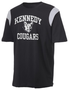 Kennedy Elementary School Cougars Holloway Men's Rush T-Shirt