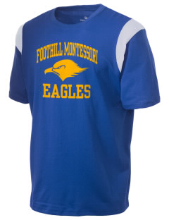 Foothill Montessori School Eagles Holloway Men's Rush T-Shirt