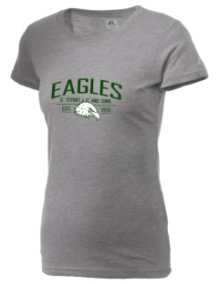 St. Stephen's & St. Agnes School Eagles  Russell Women's Campus T-Shirt
