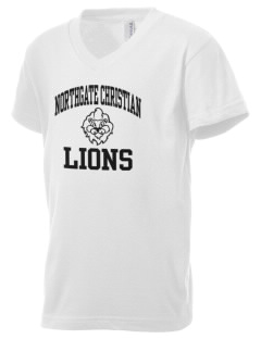 Northgate Christian Academy Lions Kid's V-Neck Jersey T-Shirt