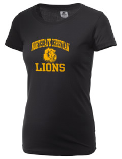 Northgate Christian Academy Lions  Russell Women's Campus T-Shirt