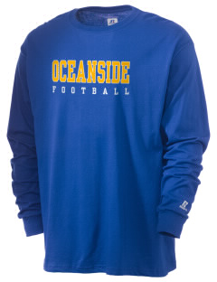 Oceanside Adventist Elementary School Dolphins  Russell Men's Long Sleeve T-Shirt